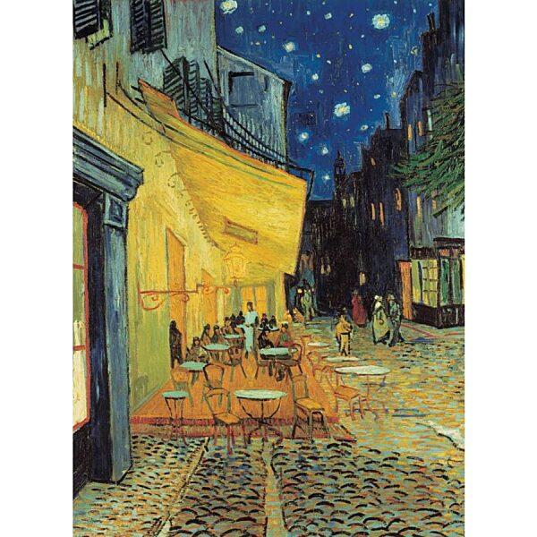 Van Gogh: Éjjeli kávéző 1000 db-os puzzle - Clementoni - 1. kép