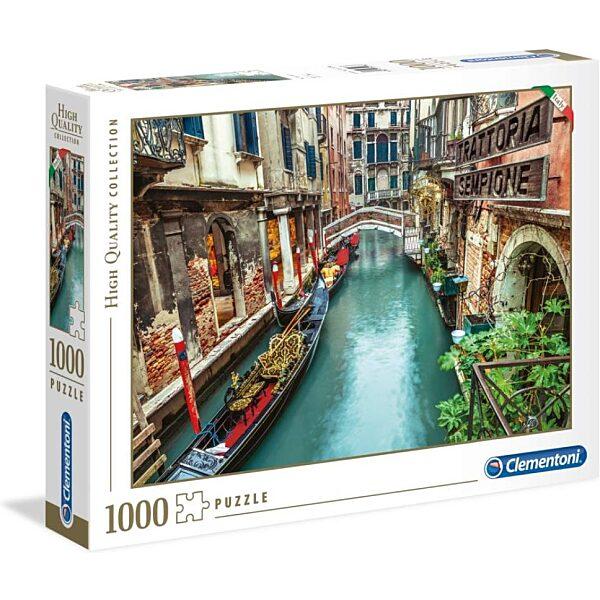 Velencei csatorna 1000 db-os puzzle - Clementoni - 2. kép