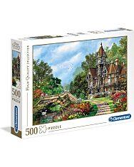 Vidéki villa 500 db-os puzzle - Clementoni - 2. kép