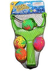 Vízi csúzli - 4 labdával - 1. kép