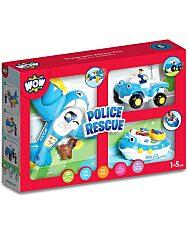 WOW Játékszett 3 az 1-ben - rendőri akció - 1. kép