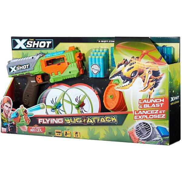 X-Shot Bogártámadás Swarm Seeker szivacslövő játékfegyver - 2. kép