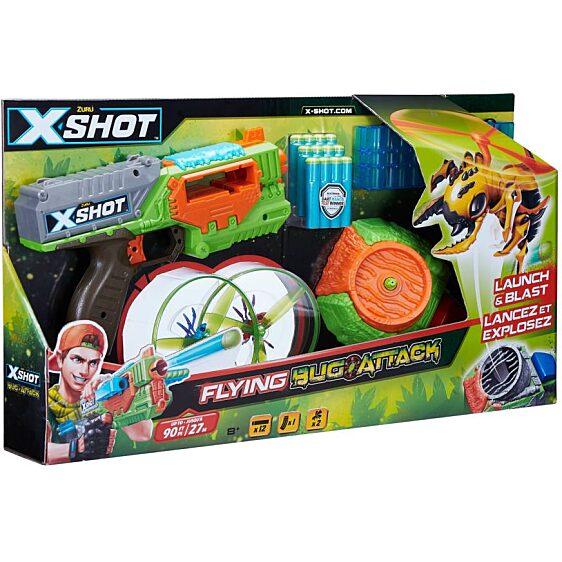 X-Shot Bogártámadás Swarm Seeker szivacslövő játékfegyver - 3. kép