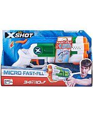X-Shot Micro Fast Fill gyorstöltő vizipisztoly - 1. kép