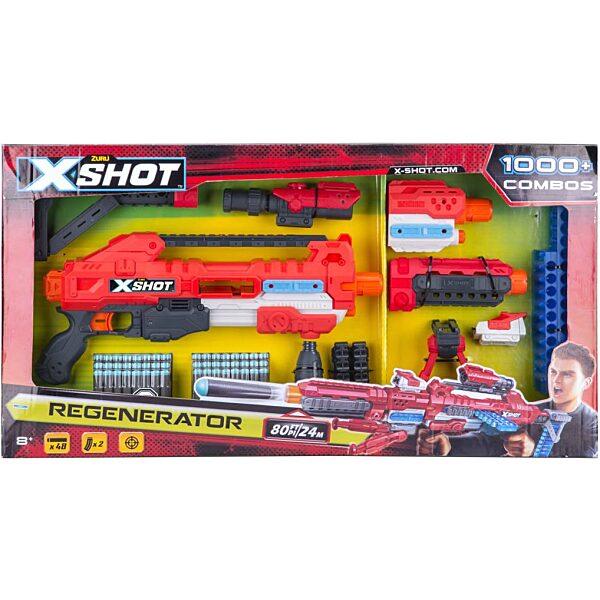 X-Shot Regenerator szivacslövő fegyver készlet - 1. kép