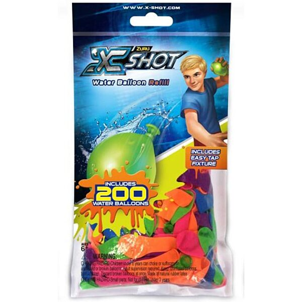 X-Shot vízibomba csomag