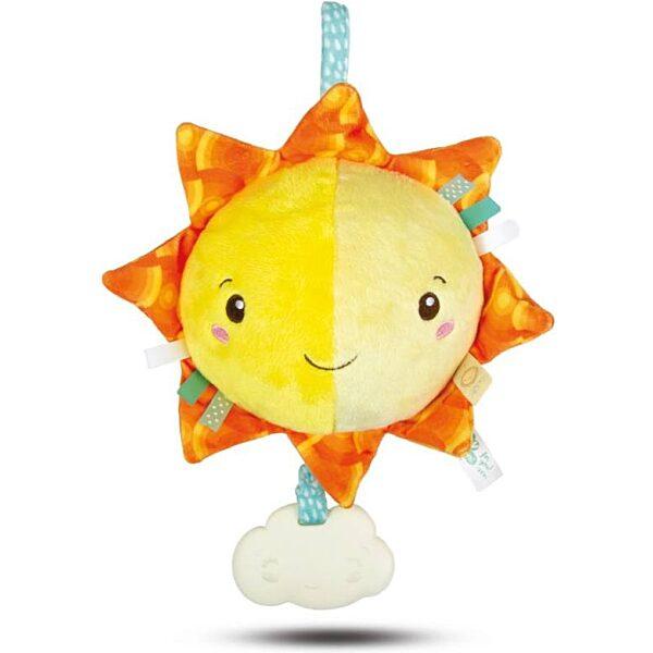 Zenélő plüss nap - Clementoni Baby - 1. kép