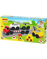 Abrick: Közúti járművek játékszett - 1. Kép