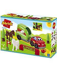 Abrick: Lószállító játékszett - 1. Kép