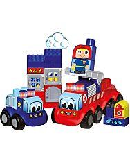 Abrick: Sürgősségi járművek építőjáték szett - 1. Kép