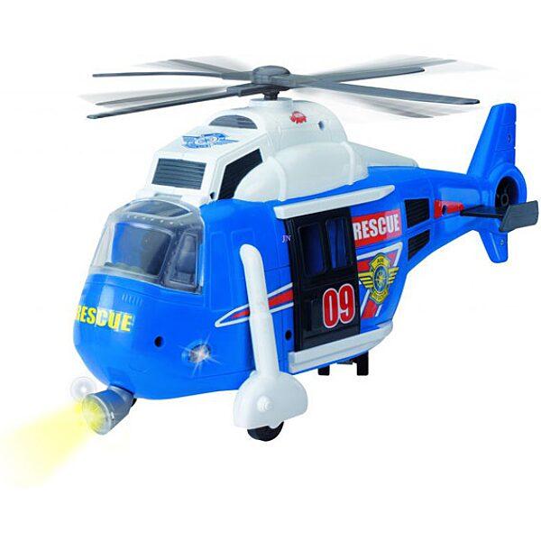 Action Series mentőhelikopter - kék - 3. Kép