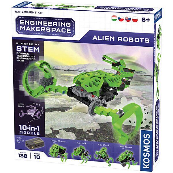 Alien Robots építő játék - 3. Kép