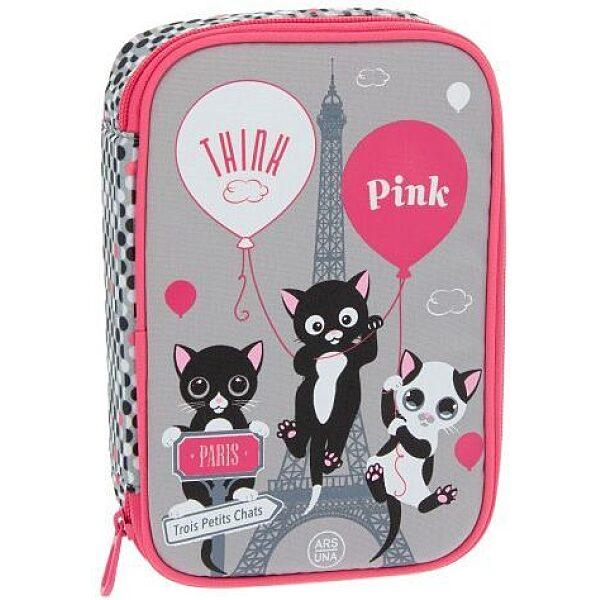 Ars Una: Think Pink többszintes tolltartó - 1. Kép