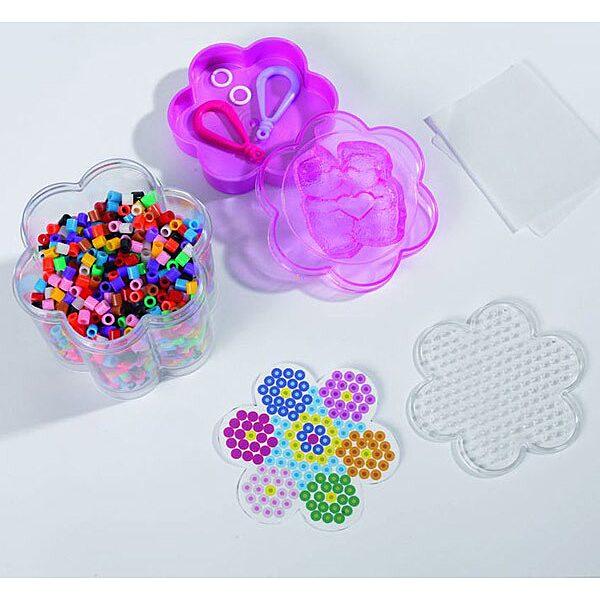 Art and Fun: 1300 darabos vasalható gyöngy készlet - több színben - 2. Kép
