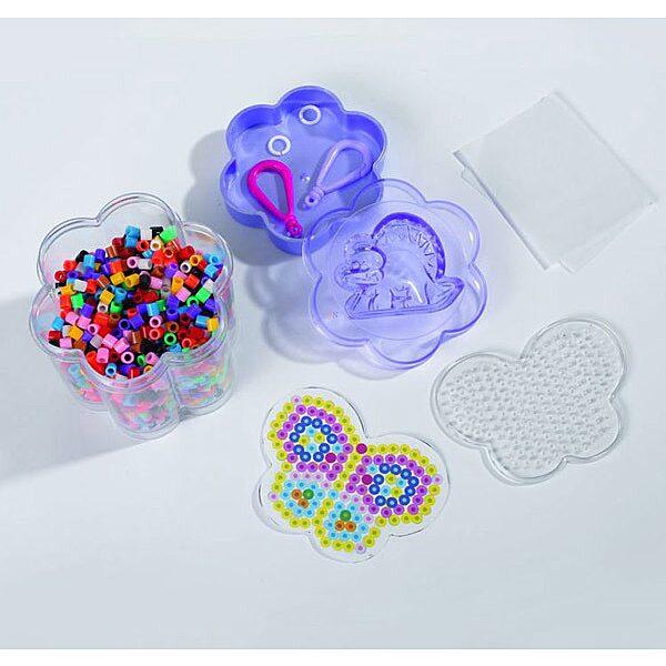 Art and Fun: 1300 darabos vasalható gyöngy készlet - több színben - 3. Kép