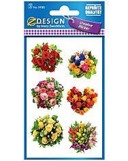 Avery: Virágcsokor papír matrica - 1. Kép