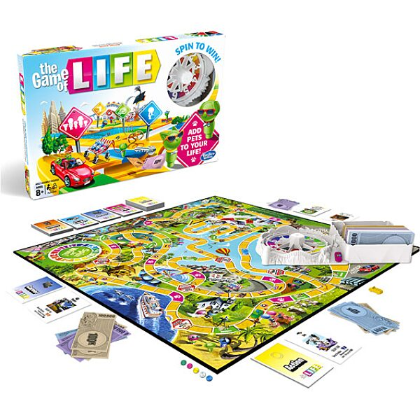 Az élet játéka társasjáték - 1. Kép