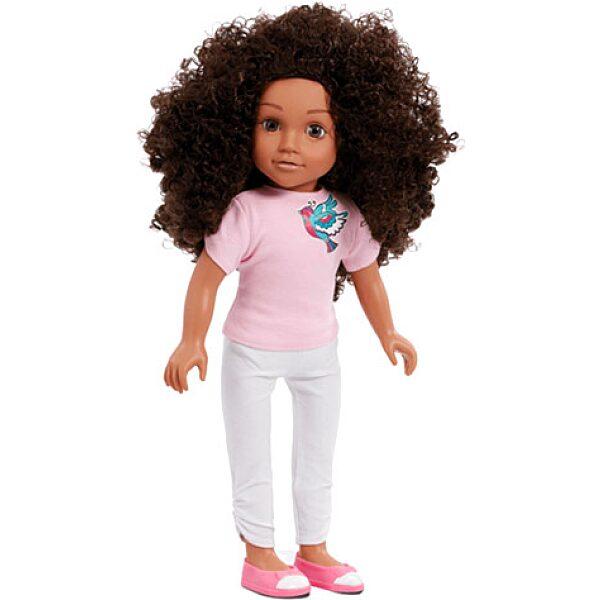 B Friends: Mia göndör hajú fésülhető baba - 45 cm - 1. Kép