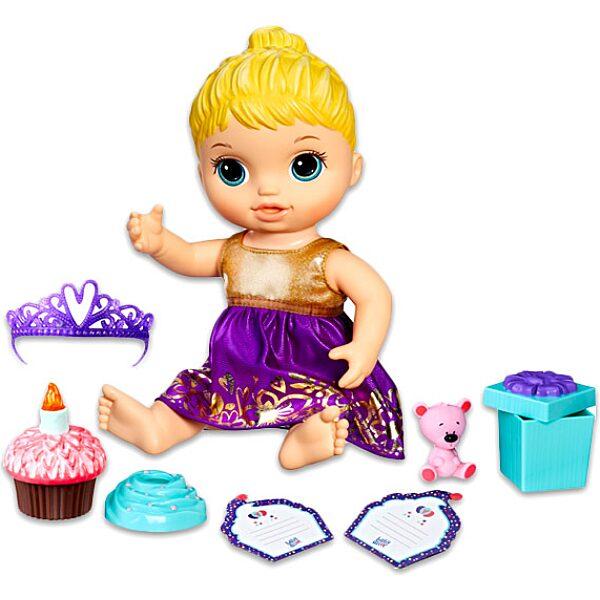Baby Alive: szőke hajú szülinapos baba - 2. Kép
