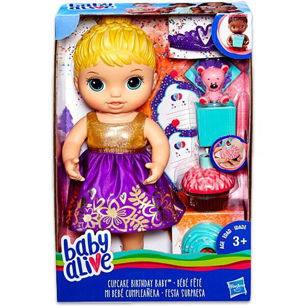 Baby Alive: szőke hajú szülinapos baba - 1. Kép