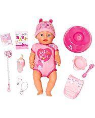 Baby Born: 8 funkciós interaktív baba - lány - 2. Kép