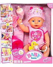 Baby Born: 8 funkciós interaktív baba - lány - 1. Kép