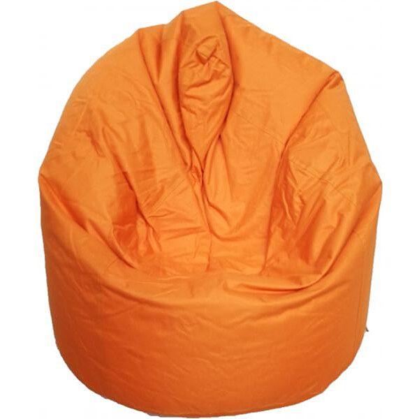 Babzsák 80 x 110 cm - narancssárga - 1. Kép