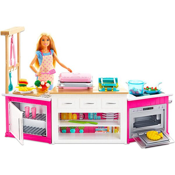 Barbie: Barbie álomkonyhája gyurmával - 1. Kép