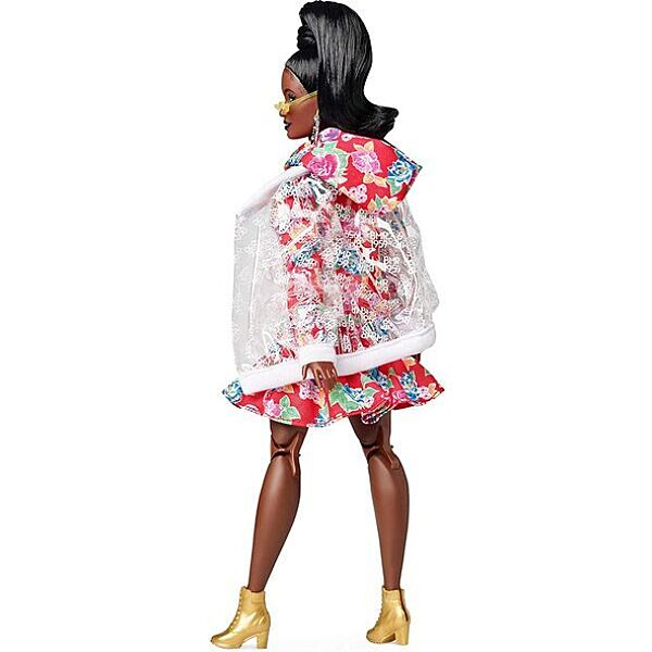 Barbie: BMR 1959 - Retro divatbaba esőkabátban - 3. Kép