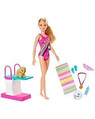 Barbie Dreamhouse: Barbie úszóbajnok szett - 1. Kép