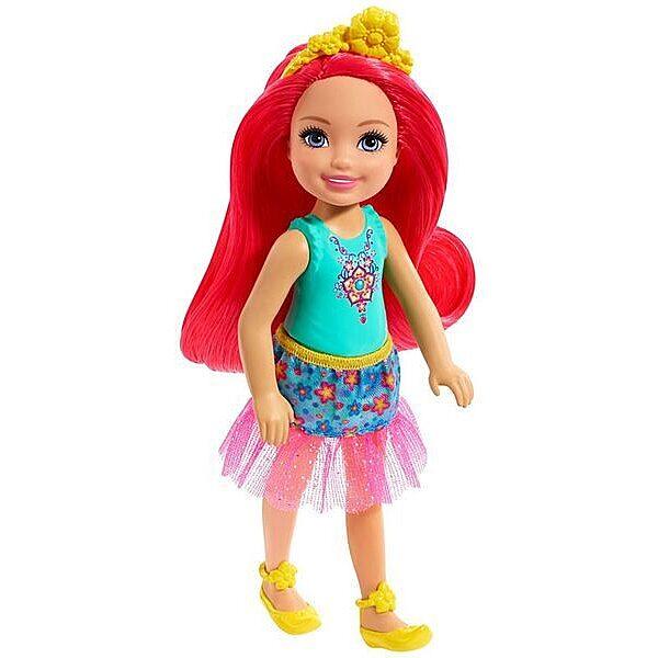 Barbie Dreamtopia: Pink hajú lány baba - 1. Kép
