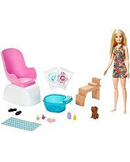 Barbie feltöltödés - Körömstúdió játékszett - 1. Kép