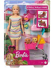 Barbie: Kölyök kutyus sétáltató játékszett - 2. Kép