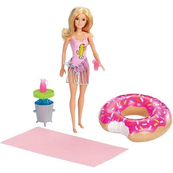 Barbie: Medencés parti babával és kiegészítőkkel - 1. Kép