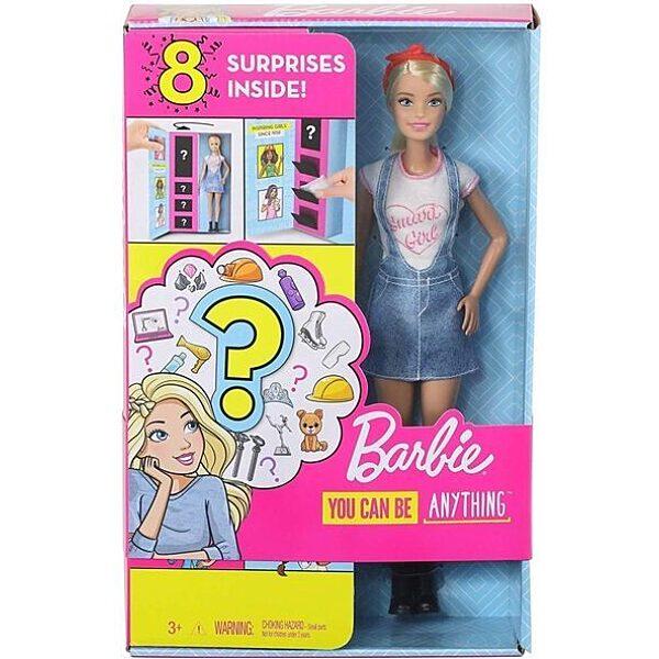 Barbie: Meglepetés karrier baba - szőke - 1. Kép