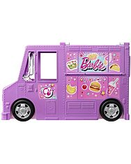 Barbie: Street Food büfékocsi babával - 2. Kép