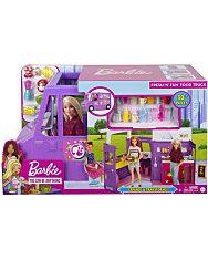 Barbie: Street Food büfékocsi babával - 1. Kép