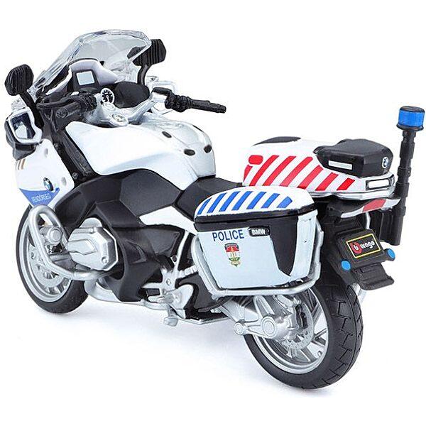 Bburago rendőrmotor 1:18 - kék