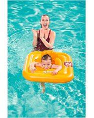 Bestway: Felfújható beülős bébi úszógumi - sárga - 2. Kép