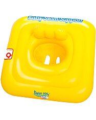 Bestway: Felfújható beülős bébi úszógumi - sárga - 1. Kép