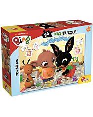 Bing 24 db-os maxi puzzle - Bing és barátai festenek - 4. Kép