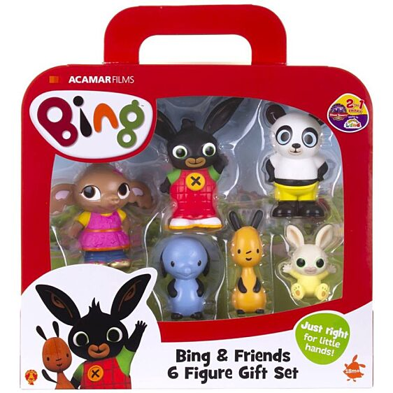 Bing és barátai 6 db-os figura szett - 6. Kép