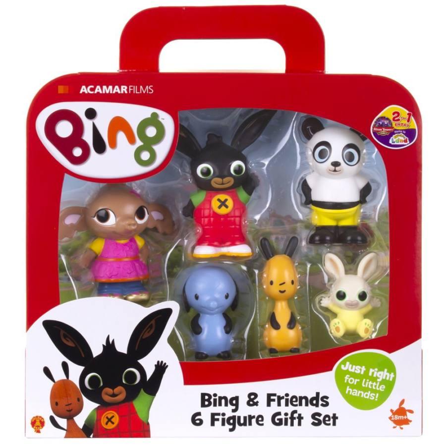 Bing és Barátai – 6 db-os műanyag figura szett