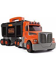 Black and Decker: összeépíthető kamion szerszámkészlettel - 1. Kép
