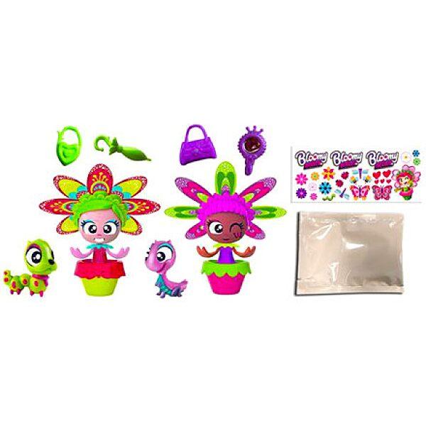 Bloomy Belles: virágcserépbaba ajándékcsomag - 2. Kép