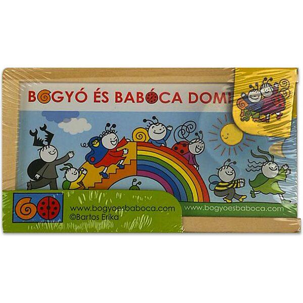 Bogyó és Babóca szivárványos dominó - 1. Kép