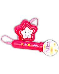 Bontempi: Karaoke mikrofon hangszóróval - rózsaszín - 1. Kép