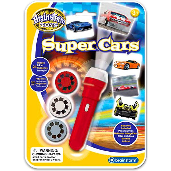 Brainstorm: szuper autók kivetítő - 1. Kép