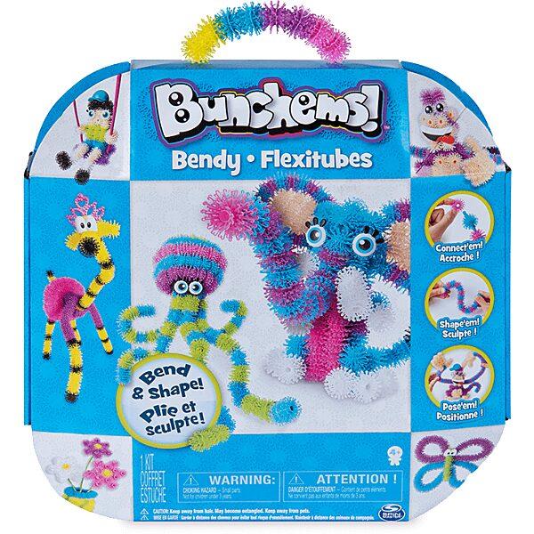 Bunchems: Bendy Flexitubes építőkészlet - 4. Kép
