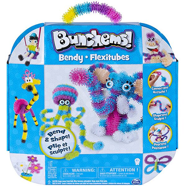 Bunchems: Bendy Flexitubes építőkészlet - 1. Kép